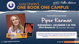 Piper Kerman at the University of Illinois at Urbana-Champaign